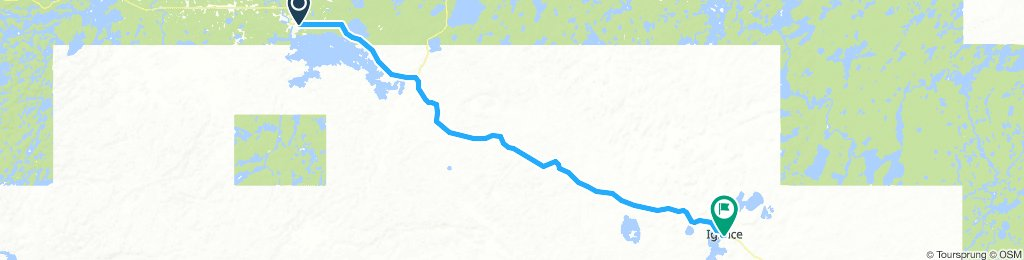 5of12 NorthernON - 04 Dryden, ON to Ignace, ON (Davy Lake Campground and Resort) 106km