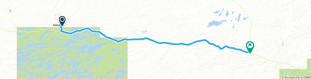 5of12 NorthernON - 06a Atikokan, ON to Shebandowan, ON (Timberland Motel and Resturant) 141km
