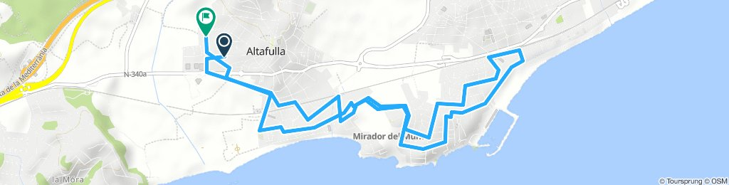 altafulla /torredembarra circular