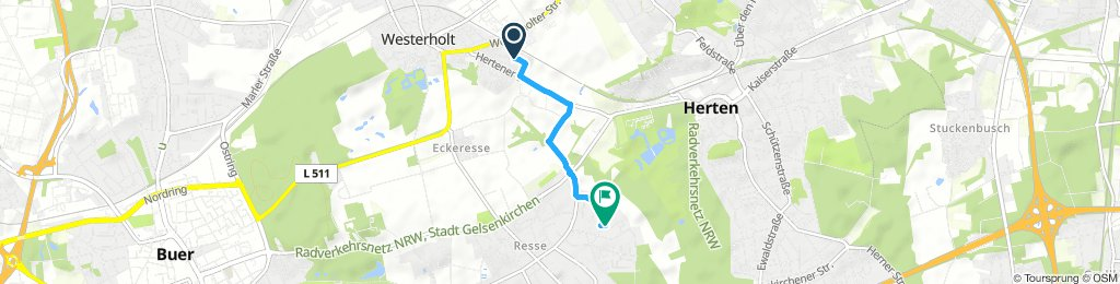 Route im Schneckentempo in Gelsenkirchen