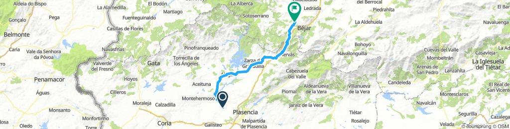 Via de la Plata 6.dan: Carcaboso - La Calzada