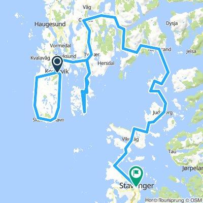 Karmøy - Stavanger (dag 21)