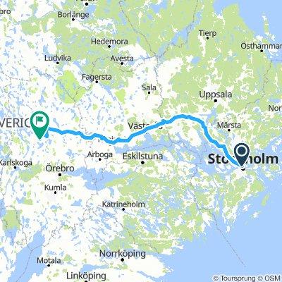 von Stockholm nach Nora