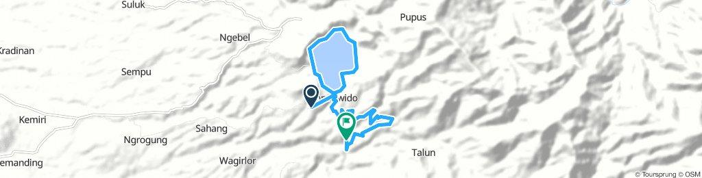 Track Telaga ngebel