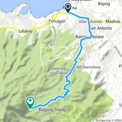 J02A - vendredi 11 janvier 2019 – Los Baños – Route mont Makiling