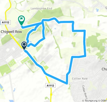 Moderate route in Chigwell