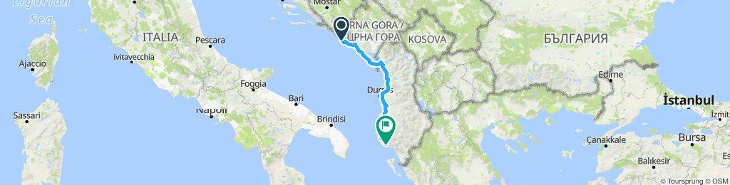 Dubrovnik, HK - Dhermi, AL