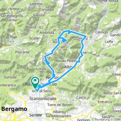 Val Seriana: Selvino-Monte Poieto-Val Vertova