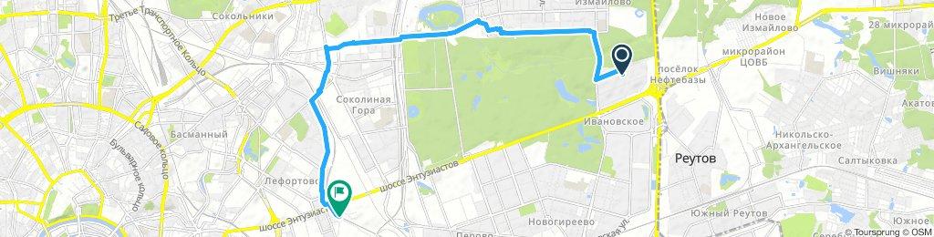 Велозабор с Ткацкой, едем в Люберцы Томилино на электричке 11 января 2019