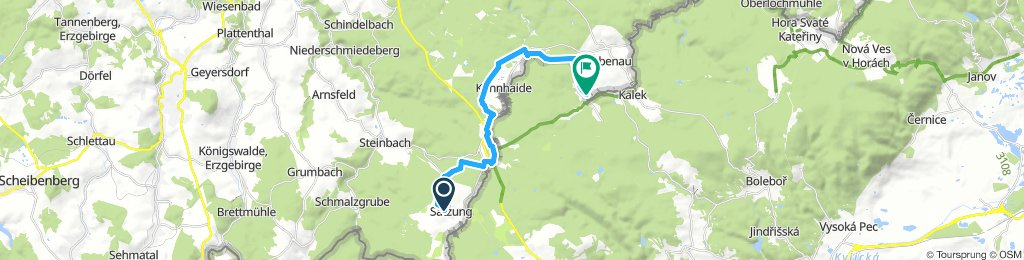 3. Tag Winterwanderung Satzung - Rübenau