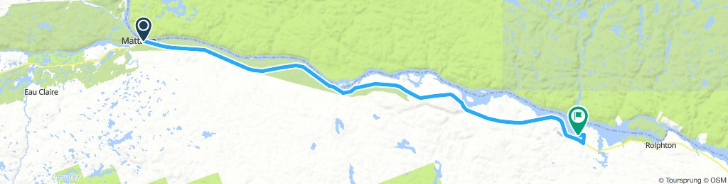 6of12 SouthCentralON - 08 Mattawa, ON to Stonecliffe, ON (Driftwood Provincial Park - West River Campground) 74km