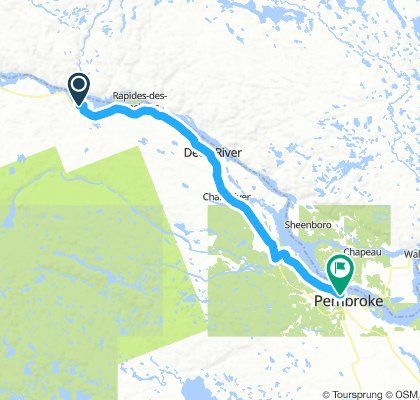 6of12 SouthCentralON - 09 Stonecliffe, ON to Pembroke, ON (Riverside Park Campground) 79km