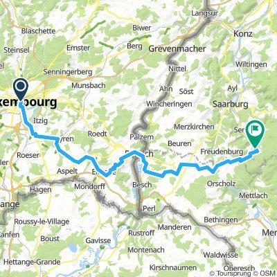 Saar bis Luxembourg