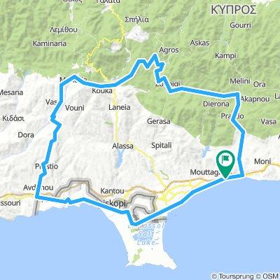 Nr.21 140km_2250hm Tour of Limassol