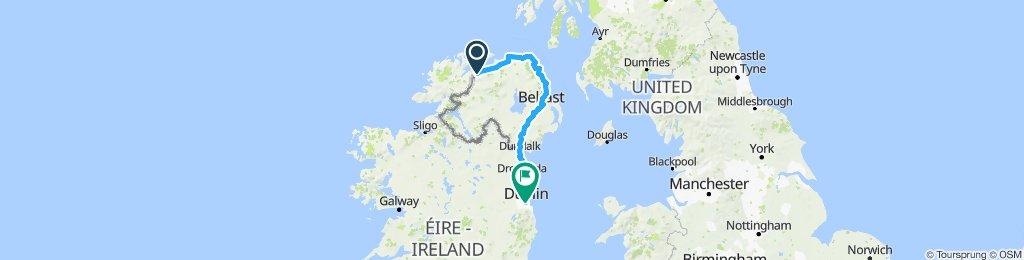 Nordhälfte Irland 2. Teil