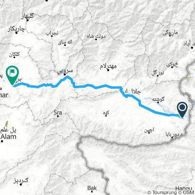Cycling For Peace - War-Zone-Trophy - Afghanistan (Mumand Dara- Kabul)