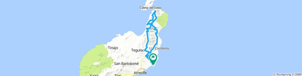MTB-Tour Costa Teguise-Mirador del Rio- El Risco de Famara ...