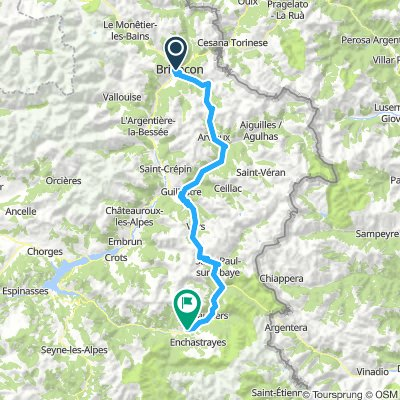 Briancon to Barcelonnette