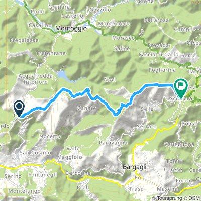 Alta via dei monti liguri tappa 27