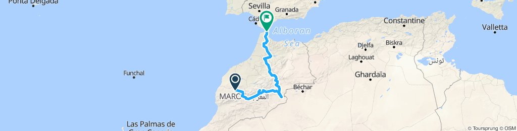 Maroko 2019