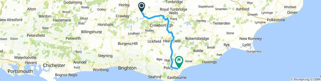 East Grinstead / Eastbourne