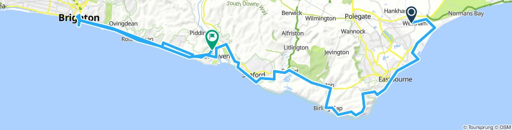 Eastbourne - Brighton - Newhaven