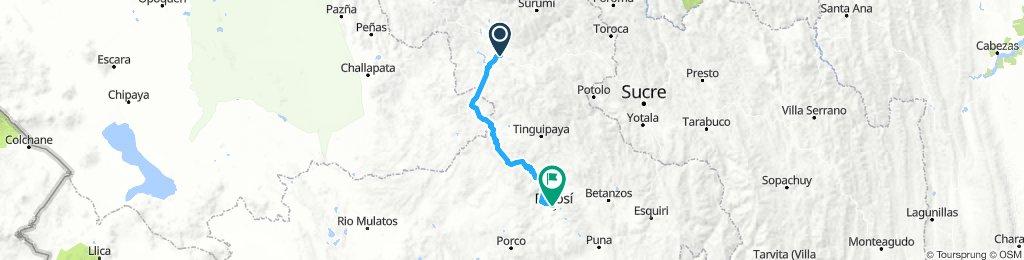 Stage 3: Macha - Cerro Rico de Potosí