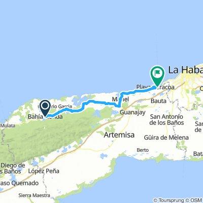 rit6 Playa Baracoa 78km(dag9)