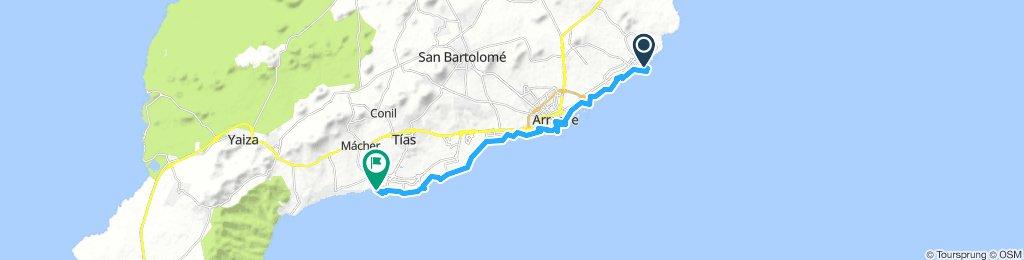 Rad-Tour Costa Teguise - Puerto del Carmen
