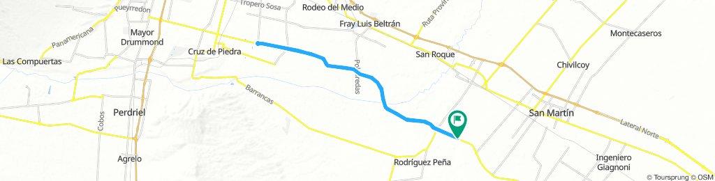 Ruta 60. Barriales-Coquimbito (1a Rotonda)