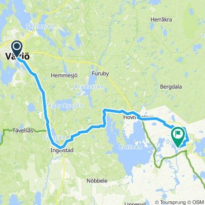 Växjö - Lessebo (Design of Småland Cup Stage 1)