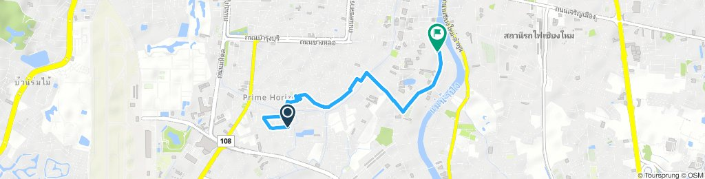 Easy ride in Chiang Mai