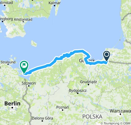 Vasfüggöny-útvonal / EuroVelo13 - Iron Curtain Trail / Poland