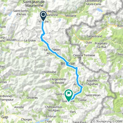 Valloire to Guillestre