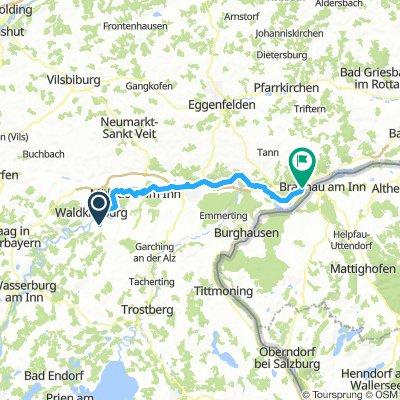 2 Kraiburg - Kirchdorf 59km