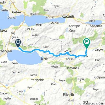 Istanbul to Ankara Track 2