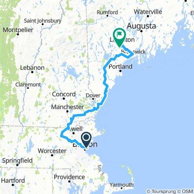 Boston Airport-Danville, Maine