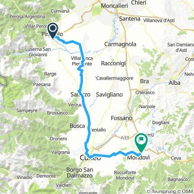 Tag 2 - 2019 -  Pinerolo - Mondovi