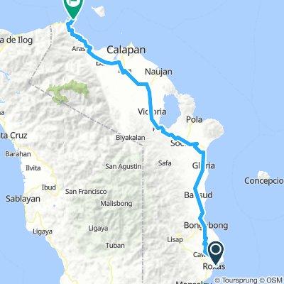 Roxas Puerto Galera Route