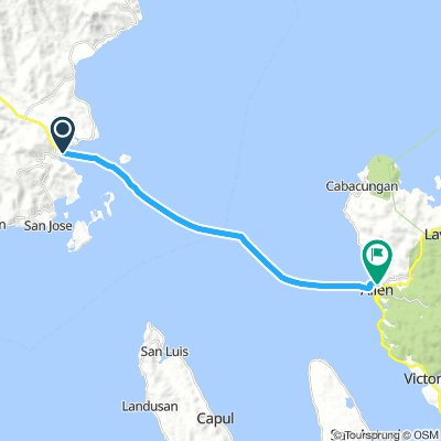 J13B - mardi 22 janvier 2019 – Matnog (Luzon) – Allen (Samar) – traversée en ferry