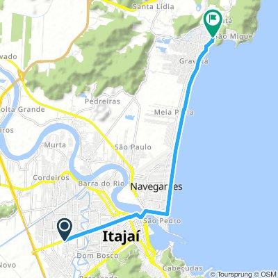 Itajaí  (Rodoviária) - Camping do Gravatá (Navegantes)