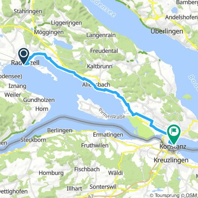 Radolfzell – Konstanz