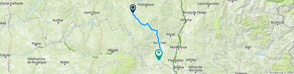 5 Champ:  Puy - Vallon Pont d'Arc
