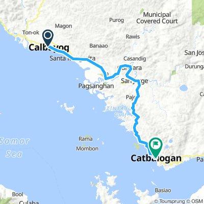 J15 - jeudi 24 janvier 2019 - Calbayog - Catbalogan