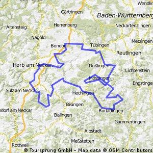 Rund um den Krei Tübingen (h)alb extrem