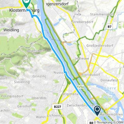 Vienna - Klosterneuburg ride