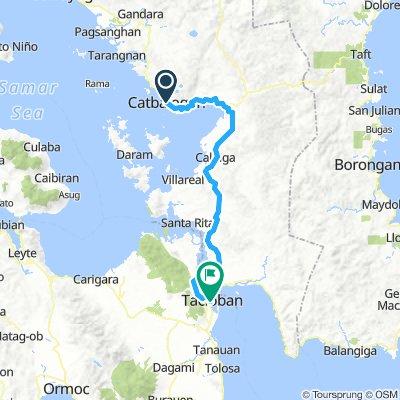 J16 - vendredi 25 janvier 2019 – Catbalogan (Samar) – Tacloban (Leyte)