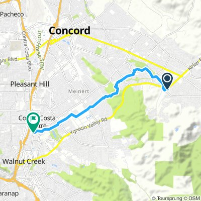 Commute route