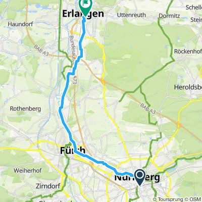 Day 1 - C3-50th Ride - Nuremberg to Erlangen