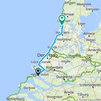 NorthSea 3: Hellevoetsluis - Heemskerk